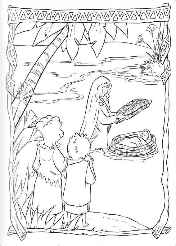 Kids N Fun Alle Kleurplaten Over Bijbelse Verhalen
