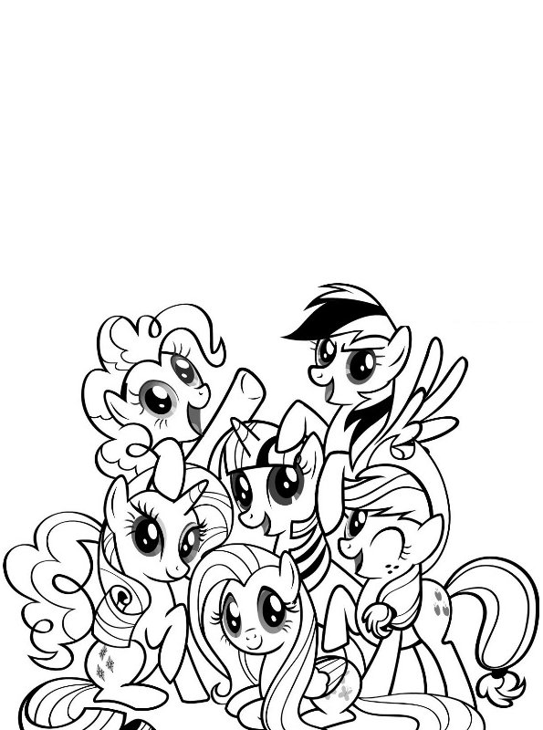n kleurplaat prinses celestia my pony my