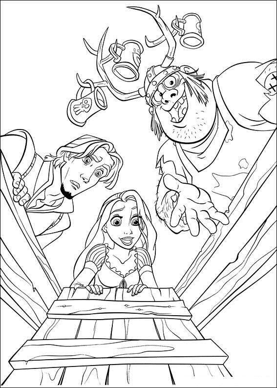 Kerst Disney Kleurplaten Kids N Fun 20 Kleurplaten Van Rapunzel