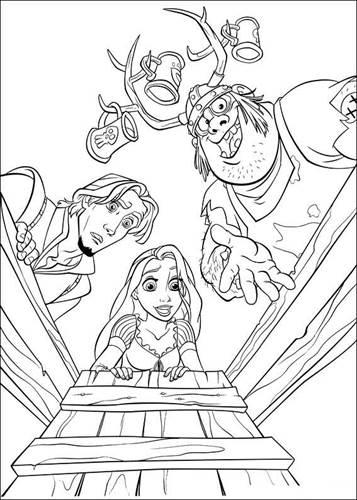 Kleurplaten Rapunzel Film.Kids N Fun 20 Kleurplaten Van Rapunzel