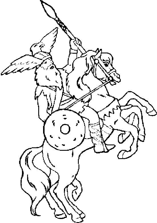 kidsnfun  kleurplaat ridders ridders