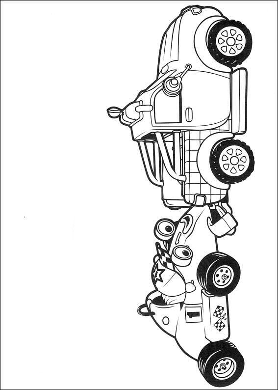 Kids N Fun 31 Kleurplaten Van Roary De Racewagen