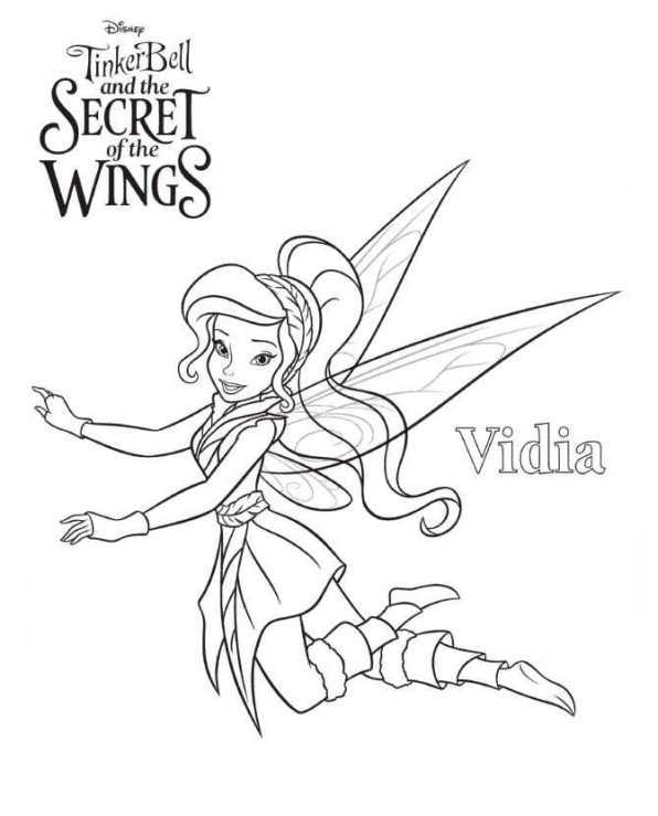 n 15 kleurplaten tinkelbel secret of the wings