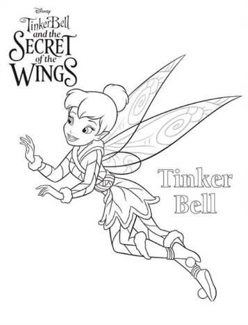 Kleurplaten Elfjes Tinkerbell.Kids N Fun 15 Kleurplaten Van Tinkelbel Secret Of The Wings