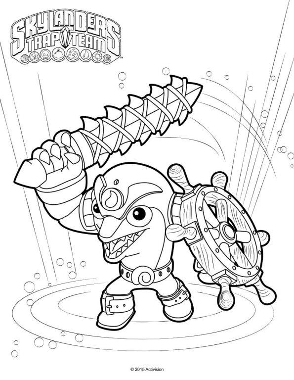 skylanders kaos trap coloring pages - photo#28