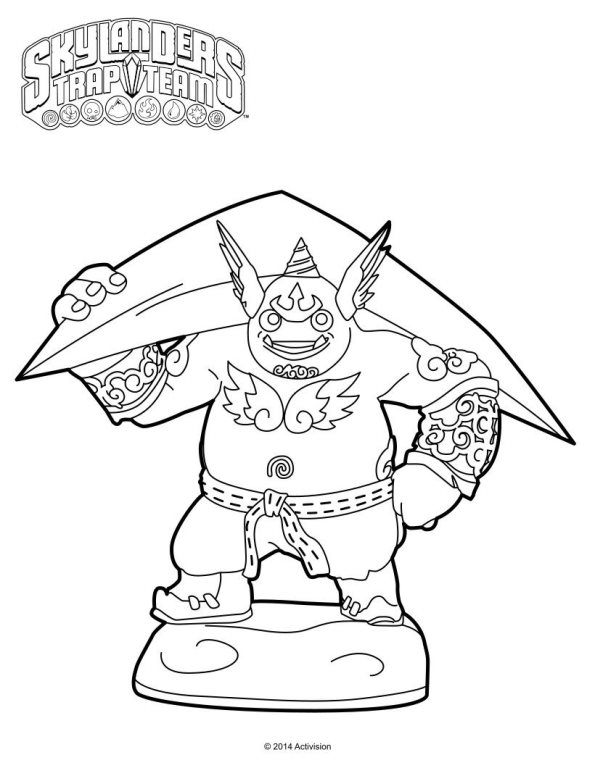 skylanders coloring pages dejau printable - photo#23