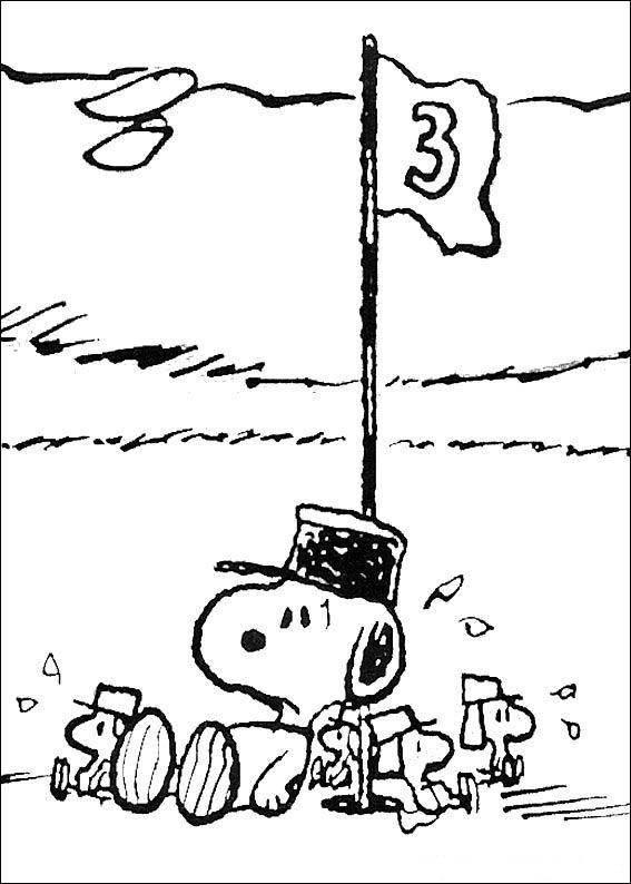 Kleurplaat Kerst Snoopy Kids N Fun 23 Kleurplaten Van Snoopy