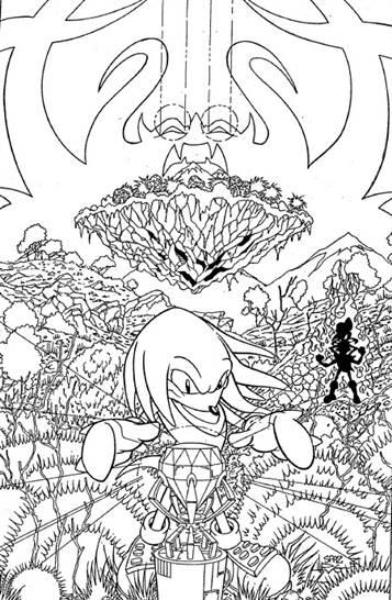 Sonic Kleurplaten Printen.Kids N Fun 20 Kleurplaten Van Sonic X
