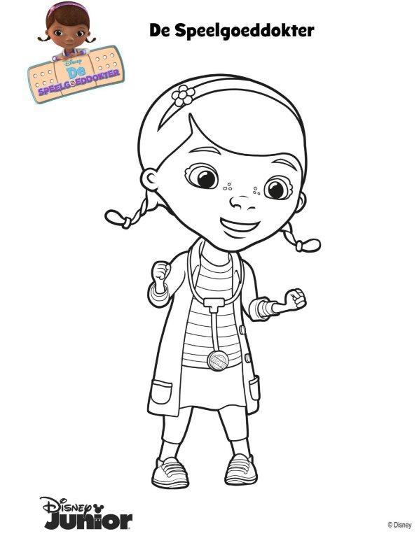 Kids N Fun 19 Kleurplaten Van Speelgoeddokter