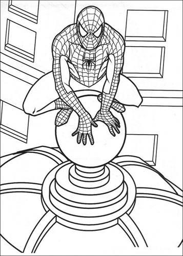 Kleurplaten Lego Spiderman.Kids N Fun 27 Kleurplaten Van Spiderman