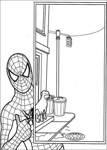 Kleurplaten Uitprinten Spiderman.Kids N Fun 27 Kleurplaten Van Spiderman