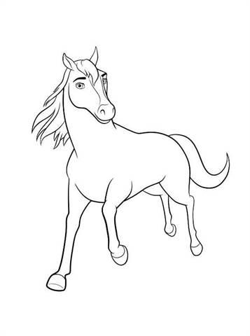 Kleurplaten Paarden Spirit.Kids N Fun 16 Kleurplaten Van Spirit Riding Free