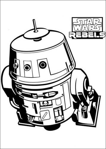 Kleurplaten Van Star Wars Rebels.Kids N Fun 27 Kleurplaten Van Star Wars Rebels