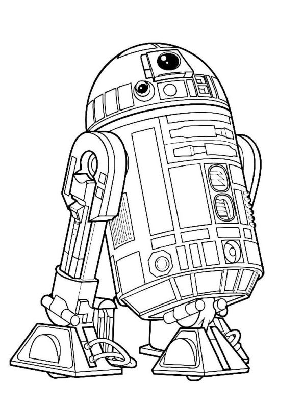 Star wars coloring pages luke