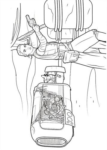 Kleurplaten Star Wars Schepen.Kids N Fun 21 Kleurplaten Van Star Wars The Force Awakens