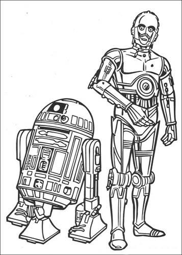 Gratis Kleurplaten Star Wars.Kids N Fun 67 Kleurplaten Van Star Wars