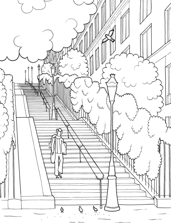quebec city coloring pages - photo#41