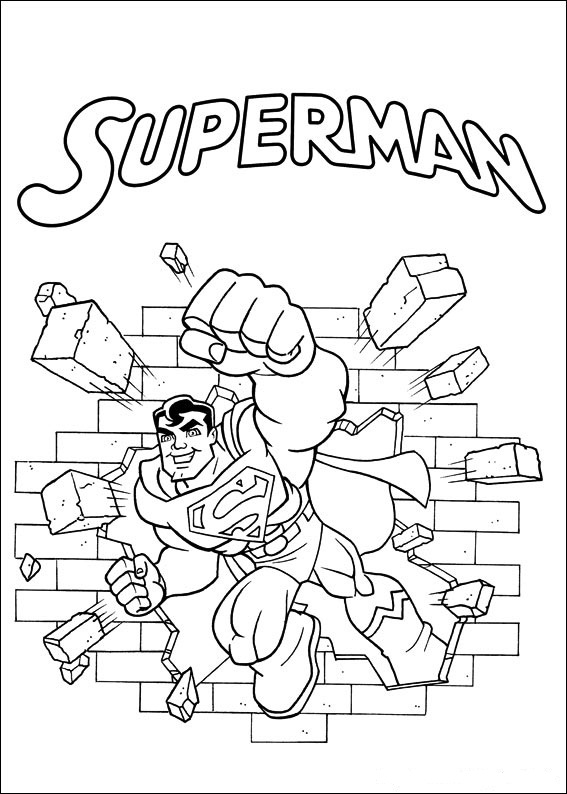 superman and superdog coloring pages - photo#26