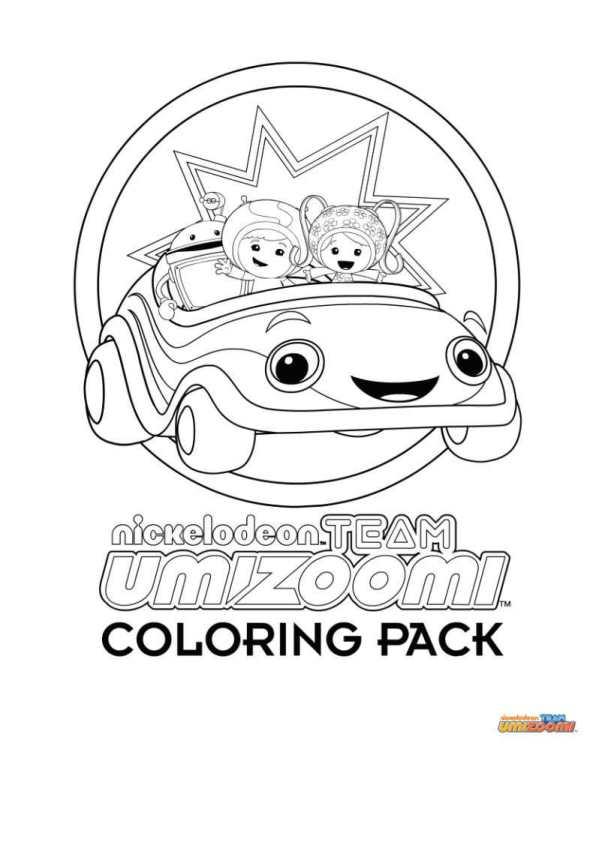kleurplaten van umizoomi