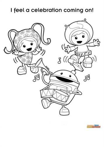 Kleurplaten Team Umizoomi.Kids N Fun 9 Kleurplaten Van Team Umizoomi