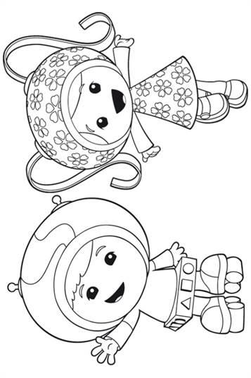 Kleurplaten Van Umizoomi.Kids N Fun 9 Kleurplaten Van Team Umizoomi
