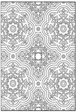 Kleurplaten Voor Volwassenen Tegels.Mandala Kleurplaat Volwassenen Uil Ausmalbild Fleckenkauz