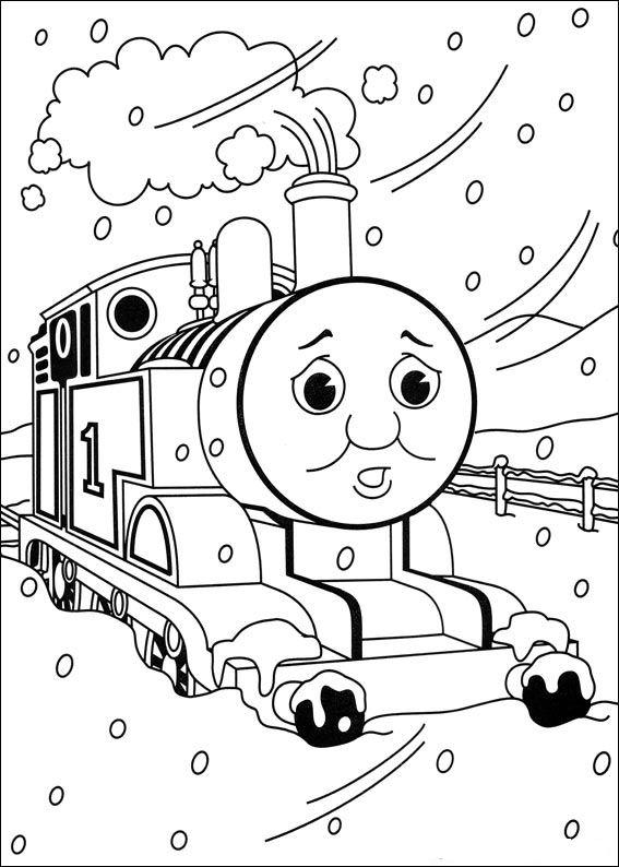 Kleurplaten Thomas Trein Diesel 10.Kleurplaat Thomas De Trein