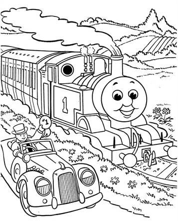 Kleurplaten Thomas Trein Diesel 10.Kids N Fun 56 Kleurplaten Van Thomas De Trein