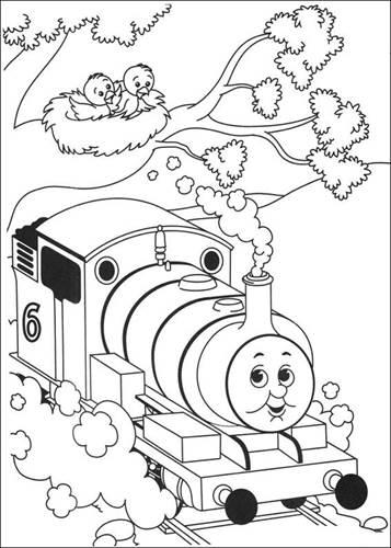 Kleurplaten Thomas De Trein Henry.Kids N Fun 56 Kleurplaten Van Thomas De Trein