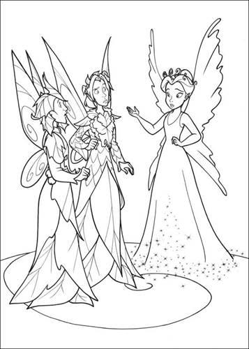 Kleurplaten Tinkerbell Disney.Kids N Fun 58 Kleurplaten Van Tinkelbel