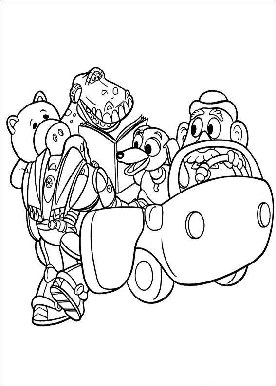Kleurplaten Puzzels Woordzoeker Kids N Fun Kleurplaat Toy Story Toy Story