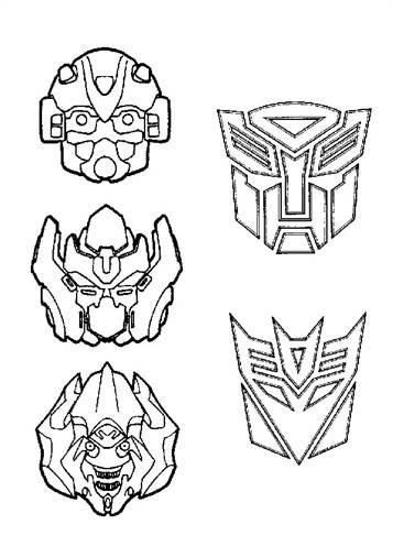 Kleurplaten Transformers Optimus Prime.Kids N Fun 33 Kleurplaten Van Transformers
