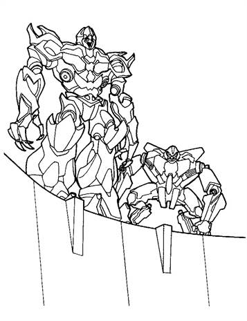 Kleurplaten Transformers.Kids N Fun 33 Kleurplaten Van Transformers
