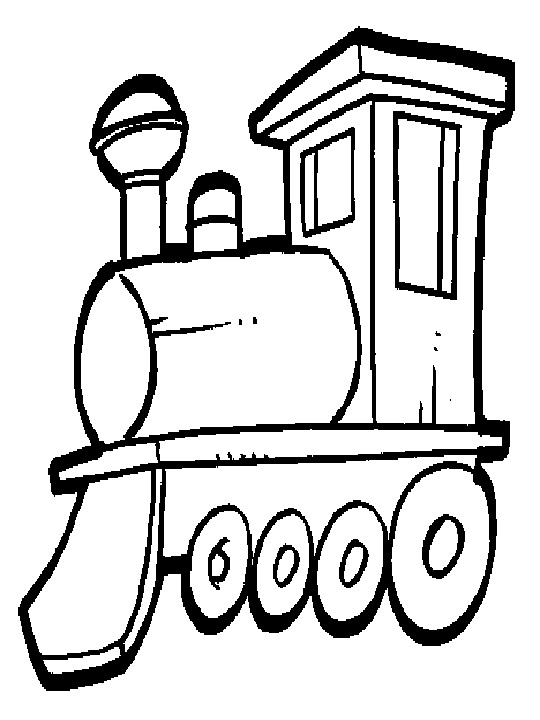 Kids N Fun Kleurplaat Treinen Treinen