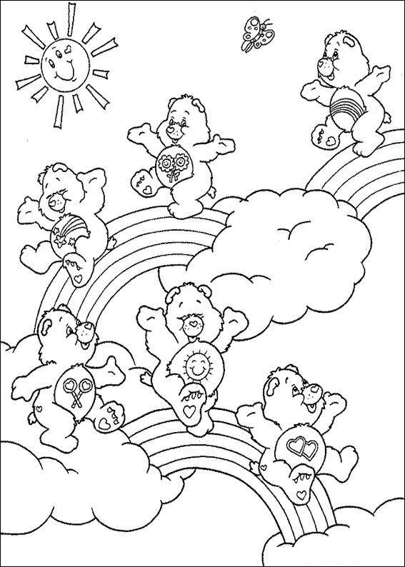 Televisie Kleurplaat Kids N Fun 63 Kleurplaten Van Troetelbeertjes