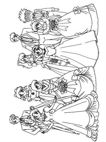 Kleurplaten 49 Verjaardag Mama Kids N Fun 34 Kleurplaten Van Trouwen