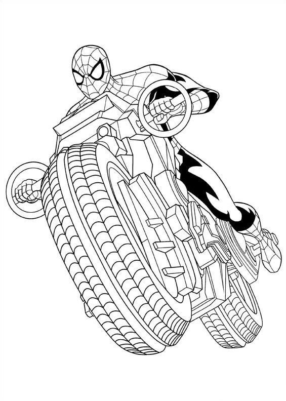 Kleurplaten Spiderman 3.Kleurplaten Spiderman 4 Kerst 2018