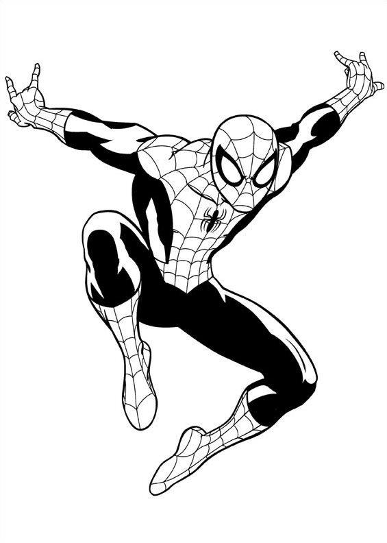 Kids N Fun Kleurplaat Ultimate Spiderman Spiderman 2