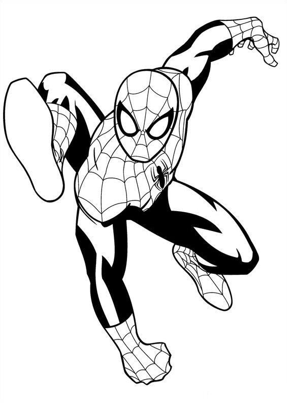 Kids N Fun Kleurplaat Ultimate Spiderman Spiderman 3