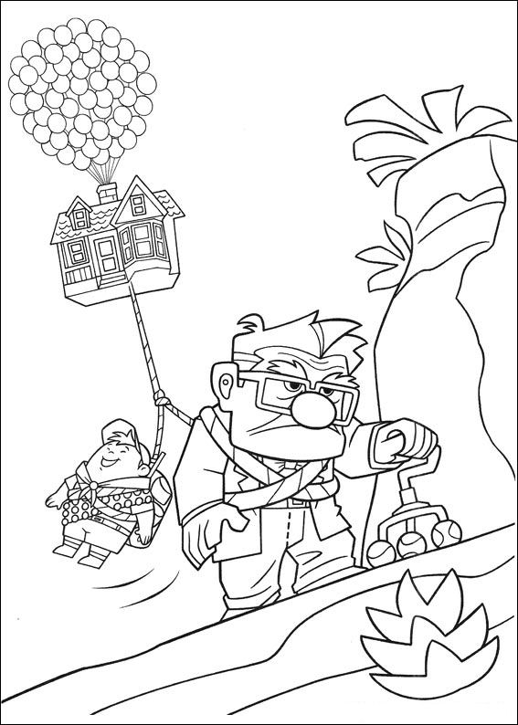 up kevin coloring pages - photo#24