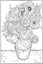 Kleurplaat Nacht Kids N Fun 30 Kleurplaten Van Vincent Van Gogh