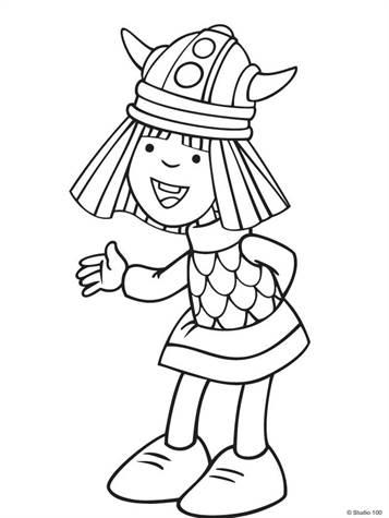 Wickie De Viking Kleurplaten.Kids N Fun 36 Kleurplaten Van Wicky De Viking