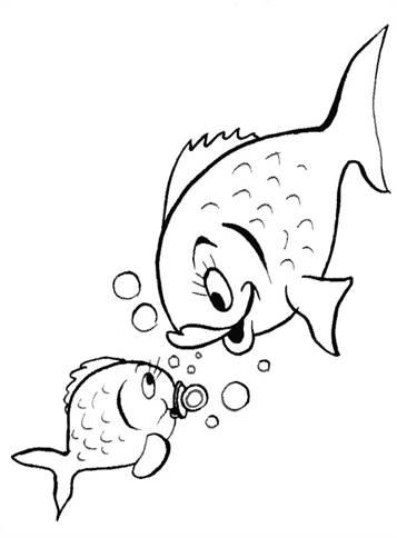 Kleurplaten Dieren In Het Water.Kids N Fun 41 Kleurplaten Van Vissen