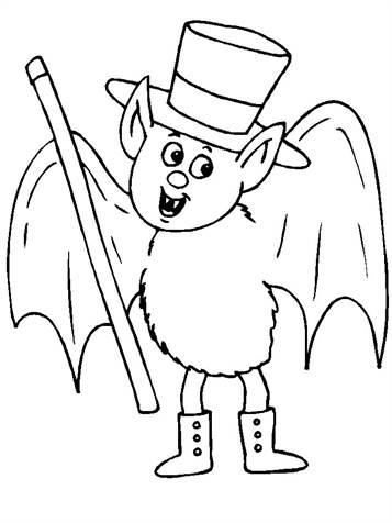Kleurplaten Halloween Vleermuizen.Kids N Fun 12 Kleurplaten Van Vleermuizen
