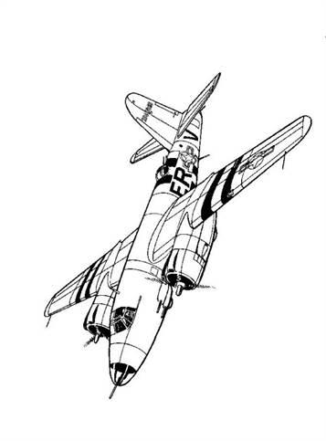 Kleurplaten Legervliegtuigen.Kids N Fun 46 Kleurplaten Van Vliegtuigen Tweede Wereldoorlog