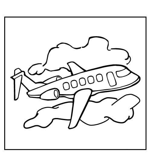 21 Kleurplaten Van Vliegtuigen