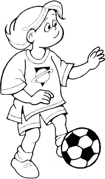 Kleurplaten Voetbal Standard.Kids N Fun 23 Kleurplaten Van Voetbal