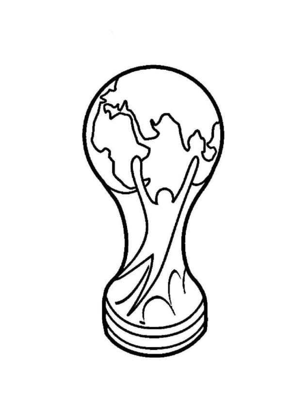 n kleurplaat voetbal fifa world cup