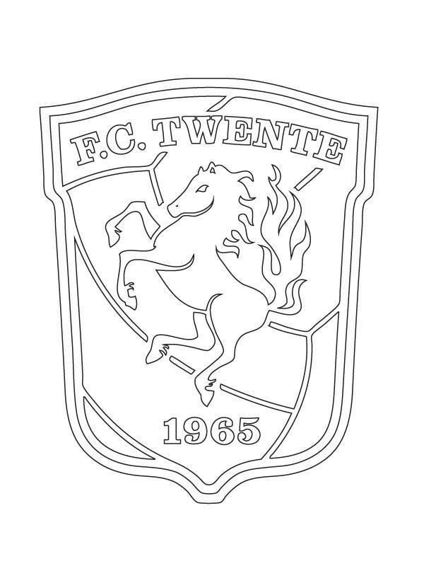 Kids N Fun Kleurplaat Voetbalclubs Nederland Fctwente