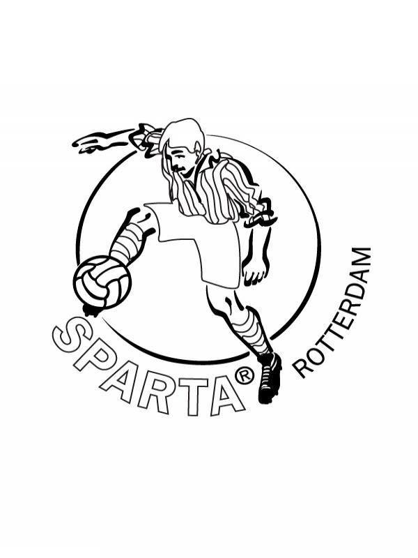 Kleurplaat Ajax Kampioen Kleurplaten Voetbal Logo Ajax Kids N Fun 19 Kleurplaten